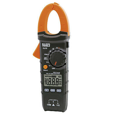 600A Digital AC Clamp Meter with Temperature Klein CL210 New