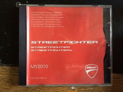 Ducati Streetfighter 1098 / 1098S 2010 Workshop Manual  90471031A
