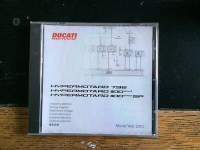 Ducati Hyper Motard 796/1100EVO / SPWiring Diagrams MY 2010 Part No 91471051A