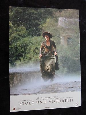 Pride and Prejudice lobby cards/stills - Keira Knightley, Matthew Macfadyen