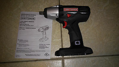 "*NEW* Craftsman C3 19.2V Cordless 1/2"" Impact Wrench 315.116020  'BARE TOOL'"