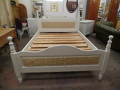 1900's King Size Shabby Chic Style Bed