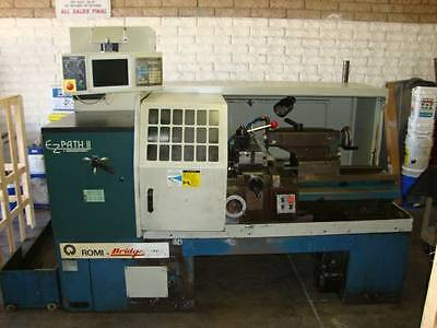 Bridgeport Romi EZ Path II CNC Lathe