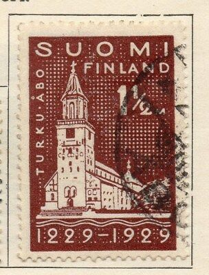 Finland 1929 Early Issue Fine Used 1.5M. 105533