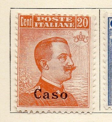 Aegean Islands Italy 1912-22 Early Issue Fine Mint Hinged 20c. Optd 105581
