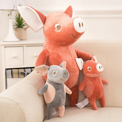 Kids Baby Xmas Gifts Stuffed Plush Pig Toys Animal Super Soft Doll Cosy Bolster