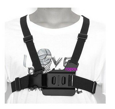 Chest Strap Adjustable For GoPro Go Pro Camera Elastic Mount Hero 1 2 3 3+ 4