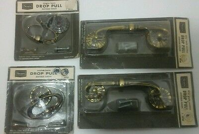 Vintage Drawer Drop Pulls Set of 4 Sears NOS