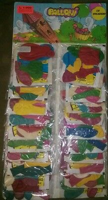 RARE Sgorbions series 1 Party Favor Packs  W/ Balloons Garbage Pail Kids GPK