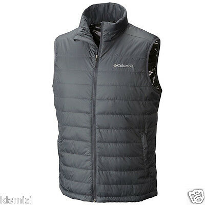"New Mens Columbia ""Crested Butte"" Insulated Omni-Heat Vest S-XL"
