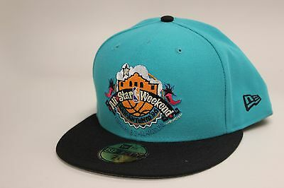 San Antonio Spurs Teal Black 1996 All Star Weekend New Era 59Fifty Fitted Hat