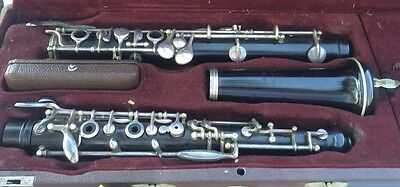 Nice Benwal New York wood Oboe - made in France w/Case & Reeds