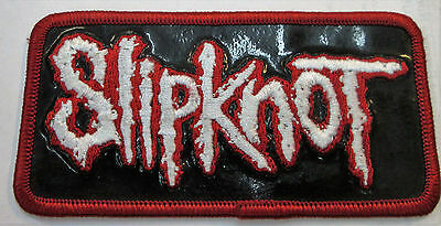 Slipknot Collectable Rare  Patch Embroided 2002 Metal Live Discontinued