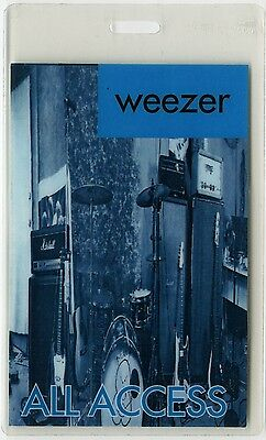 Weezer ALL ACCESS 1994 Laminated Backstage Pass