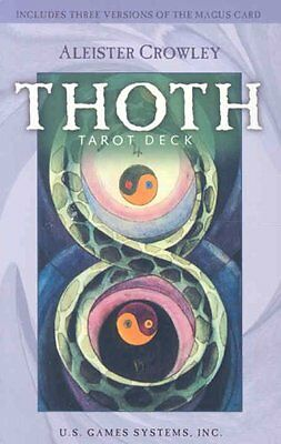 Crowley Thoth Tarot Deck by Aleister Crowley 9781572815100 (Cards, 2008)