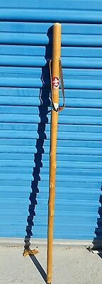 Be Prepared Boy Scout Hiking Stick  Germany HIKE AMERICA 4 FT TALL LEATHER STRAP