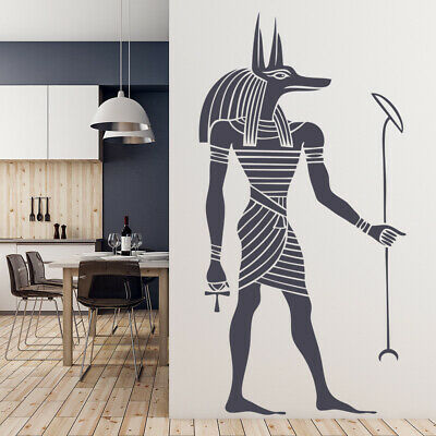 Egyptian Figure Anubis Rest of the World Wall Stickers Home Decor Art Decals