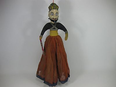 Vintage Doll / Puppet 64 cm tall From India?