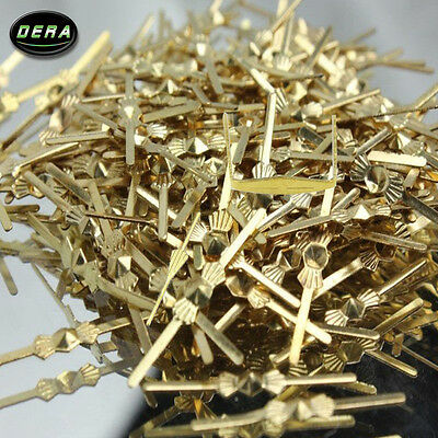 Chandelier lamp parts crystal bead metal connector golden bowtie pin 500PCS/lot