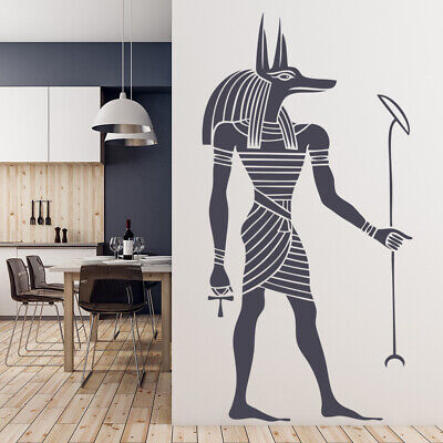 Egyptian Anubis Ancient Egypt Wall Decal Sticker WS-18422