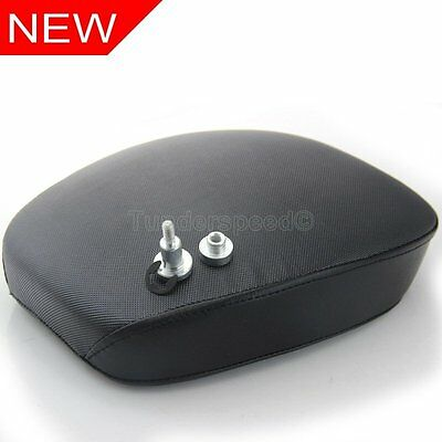 High Quality Motorcycle Rear Passenger Cushion Pillion Seat For Harley Sportster