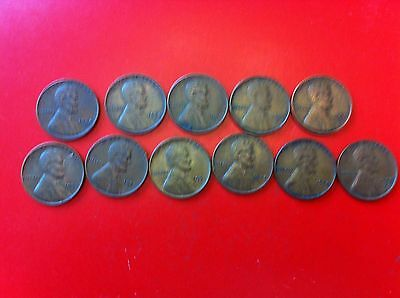 Us Coins Lincoln Wheat Cent 1944- 1954 (#1133)