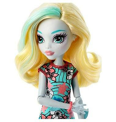 NEW Ghoul's Beast Pet Lagoona Blue Doll Monsterrific Fun By Monster High