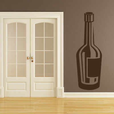 Wine Bottle Port Bottle Decorative Food And Drink Wall Stickers Kitchen Decals