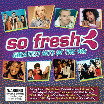 SO FRESH GREATEST HITS OF THE 90s VARIOUS ARTISTS 2 CD NEW