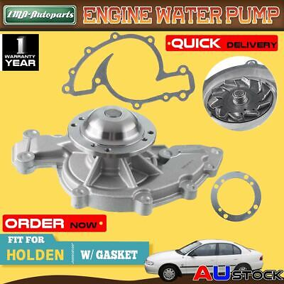 For Holden Commodore Water Pump V6 1988-7/2004 VN VP VR VS VT VU VX 3.8L +Gasket