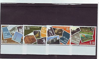 Luxembourg - Sg1777-1780 Mnh 2007 Anniv 'law Of 4 August 1907'