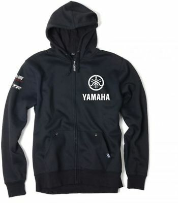 Factory Effex Yamaha Screen Printed Logo Zip-Hoodie Hoody