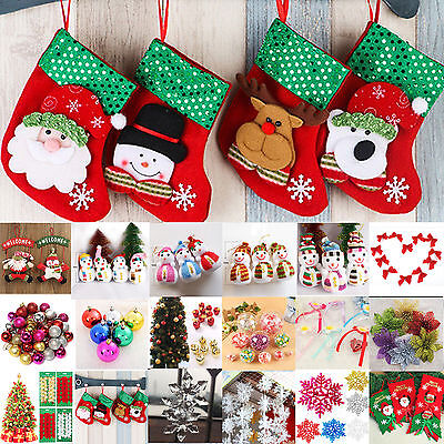 Christmas Tree Decoration Wall Hanging Pendant Indoor Ornaments Party Door Decor
