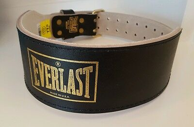 BNWOT Everlast Weight Lifting Belt 1012B Medium
