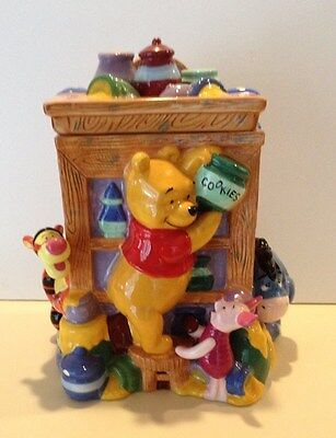 DISNEY Pooh Cupboard Cookie Jar