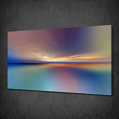 Abstract Sunset Sky Modern Canvas Wall Art Print Picture Poster Ready To Hang