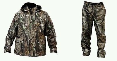 Scent Blocker-Drencher-Insulated Jacket & Pants-Realtree Xtra Camo-size XL