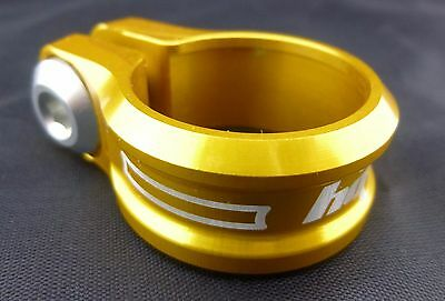 NEW Hope Bolt On Seat Clamp 30.0mm GOLD NEW in package FREE US SHIP!