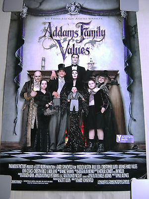 Addams Family Values - Cinema One Sheet Poster