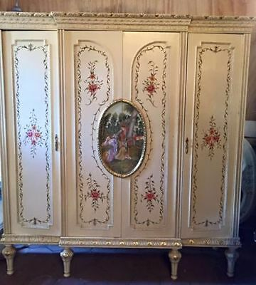 Antique Complete Beautiful Unique Bedroom In French Louis Xvi