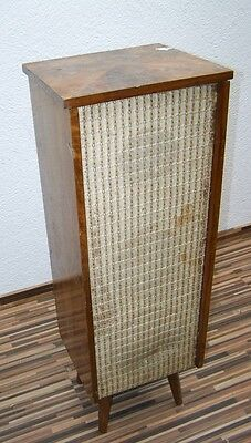 Old Floorstanding Speaker with an old Box P 532, 1950s Years, Rockabilly box