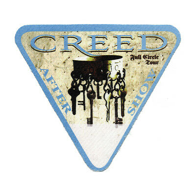 Creed Blue Aftershow 2010 Backstage Pass