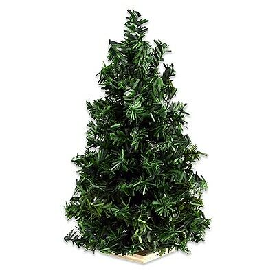 """Dollhouse Miniature 1:12 Scale Christmas Tree, 10-1/2"""" Undecorated #DHS4516"""