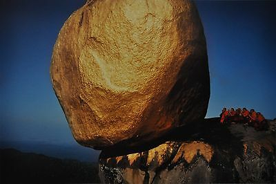 Hiroji Kubota Kunstdruck Photo Art Print 42x30cm Shwe Pyi Daw Rock in Burma 1978