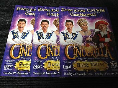 Pantomime Flyers 2016/17 X 3 - Newcastle Theatre Royal