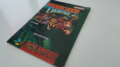 Donkey Kong Country 1 Anleitung - Super Nintendo / SNES - PAL