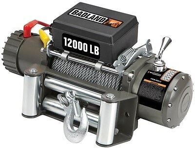 Badlands Winches 12K lb Off Road Industrial Electric Automatic Load Holding