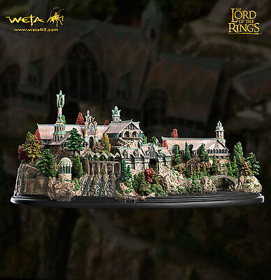 Weta The Lord of The Rings Rivendell Environment New Plus Rare Art Print!!!
