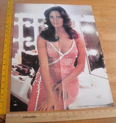 "1970's Jaclyn Smith Cheryl Ladd SEXY pull out poster 21x16"" VINTAGE"