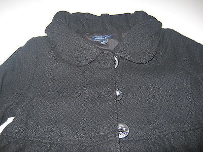 Girls  Black Pumpkin Patch Jacket Swing Coat  Age 11  Brand New With Tags